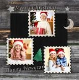 weihnachtskarten mit eigenem foto online gestalten. Black Bedroom Furniture Sets. Home Design Ideas