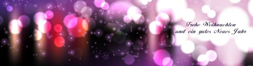 happy new year on purple/pink, ll Innenseite