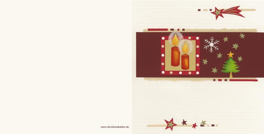 Weihnachtskarte mit modernem entwurf und stern - Moderne weihnachtskarten ...